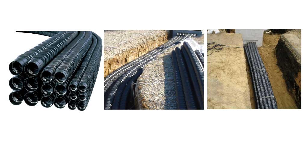 電力・通信ケーブル用多条保護管「カナレックスML」の画像